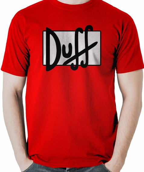 Camiseta Duff Homer Simpson Cerveja Presente