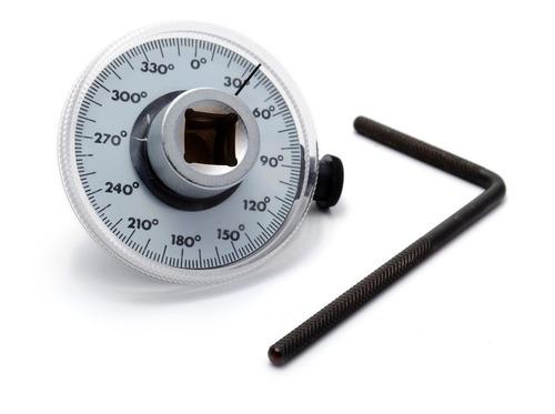 Goniometro Medidor De Grados De Torque Angulos Bremen 3897