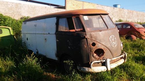 Volkswagen Kombi Furgão Antiga P/ Terminar Reforma