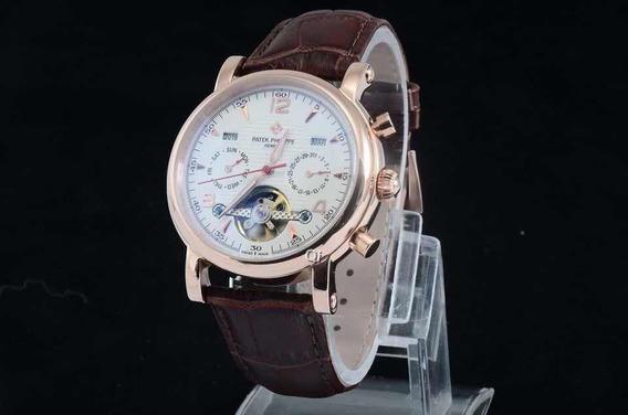 Reloj Patek Philippe Correa Cuero Marrón