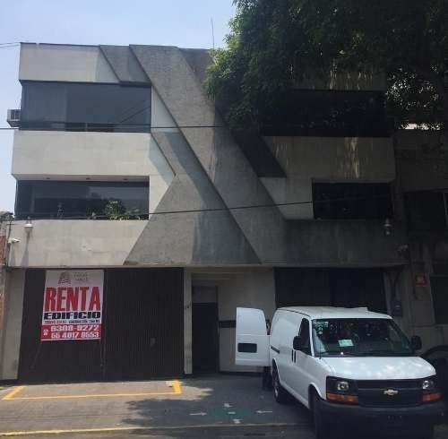 Renta Edificio En Narvarte Oficinas Y Bodega