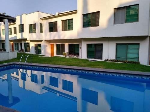 Casa En Renta En Condominio En Chulavista En Cuernavaca