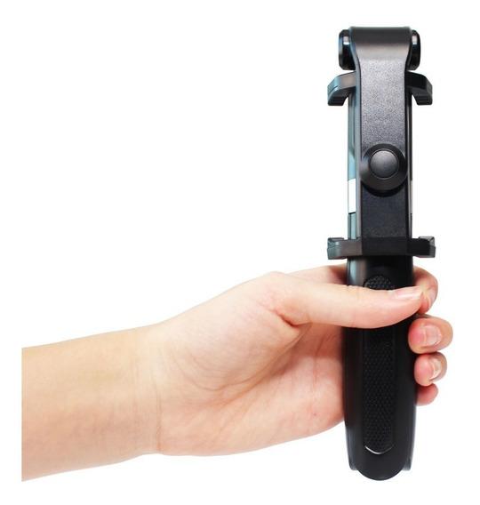 Pau De Selfie Ajustável Bastão Tripé Controle Bluetooth