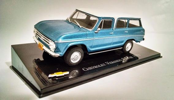Miniatura Chevrolet Veraneio 1971 Novo/lacrado !