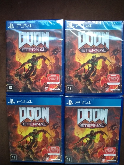 Doom Ethernal Ps4 Mídia Física Lacrado