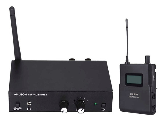 Sistema Inalambrico Anleon S2 Kit Monitoreo In Ear - Cuotas