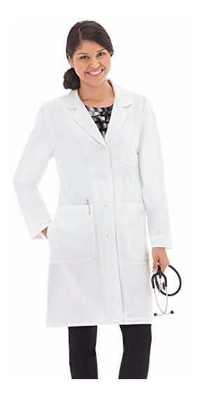 Meta Pro 894 Mujeres 37 Stretch Lab Abrigo Blanco 12