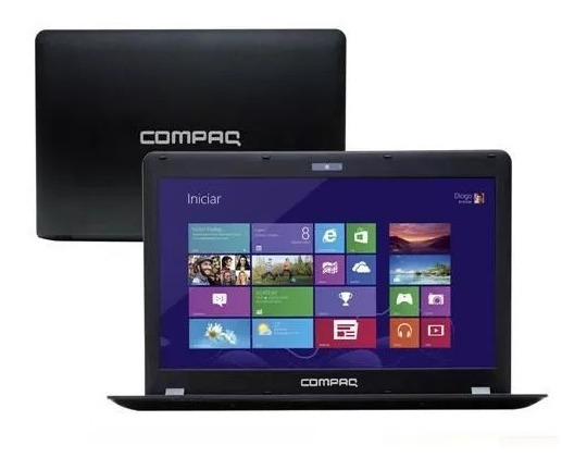 Notebook Compaq Cq18 Dual Core 4gb 500gb Windows Led 14