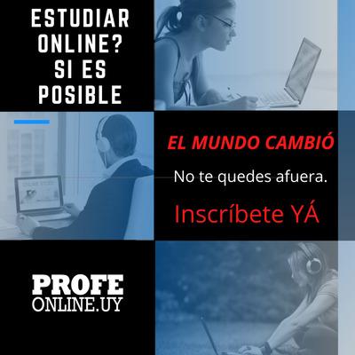Matemática Física Química Liceo Facultad Clases Online