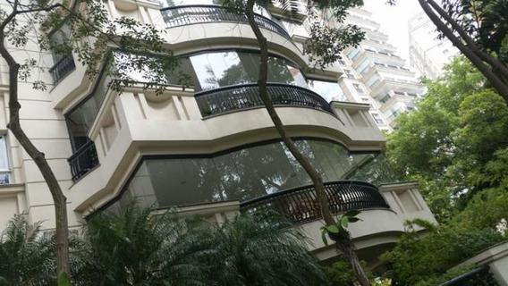 Apartamento Mobiliado Para Locação Em São Paulo, Moema - 0001_2-200285