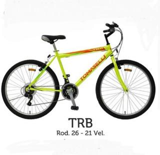 Bicicleta Mountain Bike Tomaselli Trb-26 Rodado 26 21 Vel