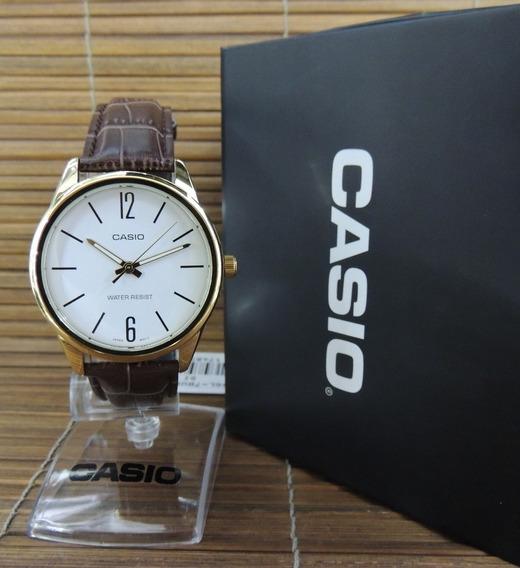 Relógio Casio Masculino - Mtp-v005gl-7budf (nf E Garantia)