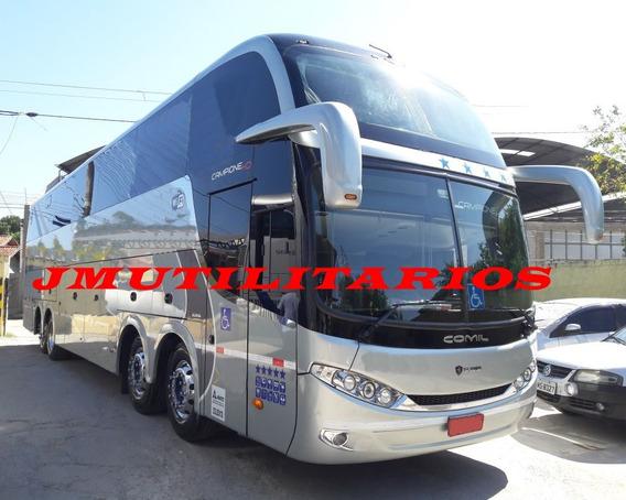 Comil Hd Ld Ano 2013 Scania K400 Retarder Rodov. Jm Cod 197