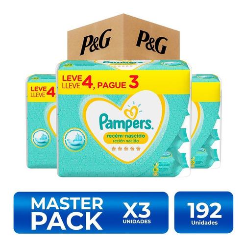 Pampers Toallitas Húmedas Recién Nacido 192 Unidades Pack X3