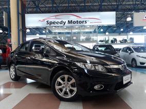 Honda Civic 2.0 Exr Flex Automático 2014 Com Teto Solar