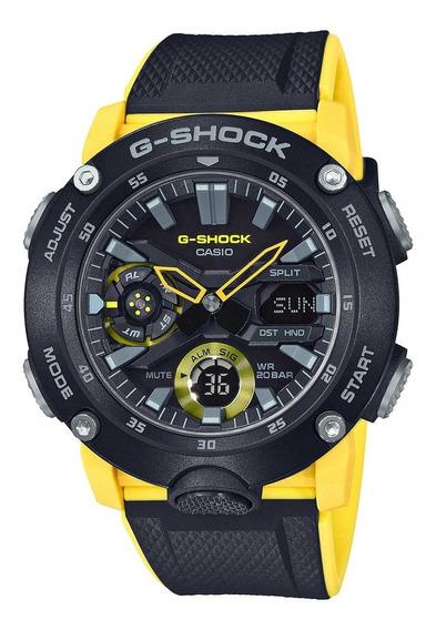 Relogio Casio G-shock Ga-2000-1a9dr + Garantia + Nota Fiscal