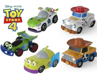 Auto Friccion Toy Story Buzz Rex Woody Jessie Tiro Loco