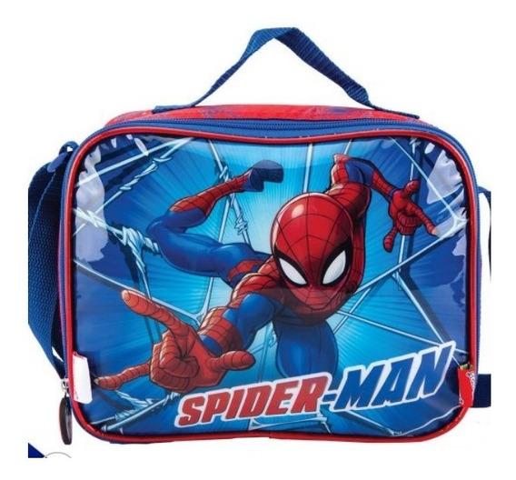 Lonchera Escolar Niño Spiderman Versión Bueno Y Malo