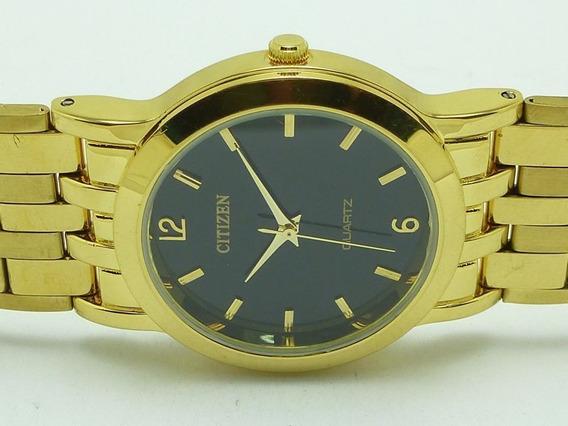 Relógio De Pulso Vintage Citizen, Dourado