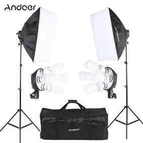 Andoer Estdio Photo Lighting Kit Com Nos