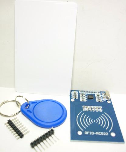 Imagen 1 de 3 de Modulo Rfid Lector-grabador De Tarjetas Para Pic Arduino Avr