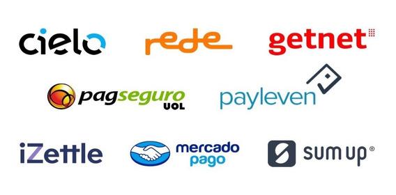 Planilha Controle De Vendas De Cartão Crédito/ Débito + Help