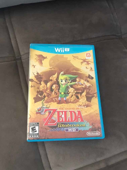 The Legend Of Zelda The Wind Waker Hd Em Mídia Física Wii U