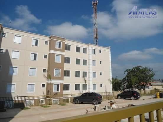 Apartamento Residencial À Venda, Jardim Vista Alegre, Ferraz De Vasconcelos. - Ap0506