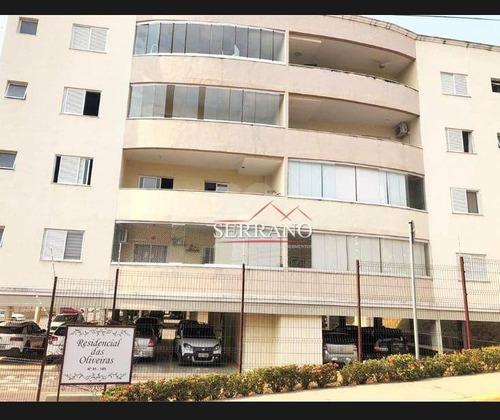 Imagem 1 de 30 de Apartamento Com 2 Dormitórios À Venda, 85 M² Por R$ 495.000,00 - Residencial Das Oliveiras - Vinhedo/sp - Ap0454