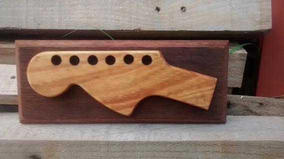 Quadro Decorativo Headstock Estilo Fender Stratocaster Lefty