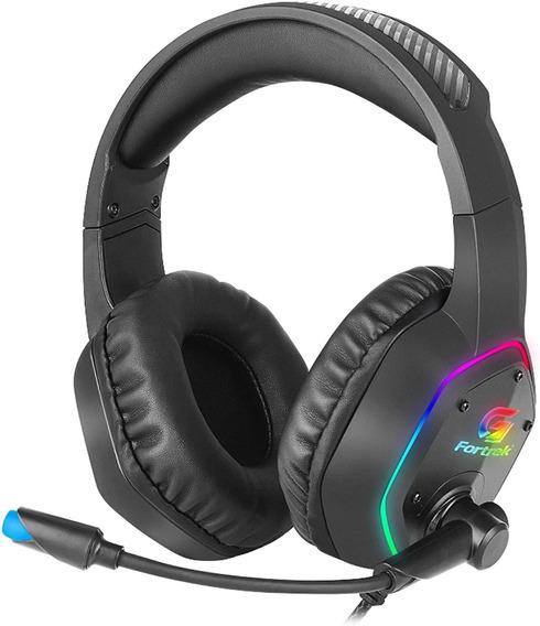 Headset Gamer Rgb Blackfire Preto Fortrek Loja Extarte