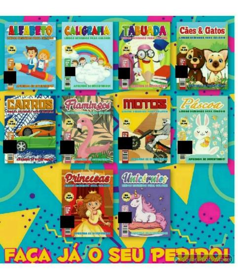 220 Livrinhos Infantis,revistas De Colorir,atacado,revenda.