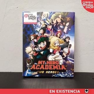 My Hero Academia Two Heroes Combo Bluray Dvd Español Latino