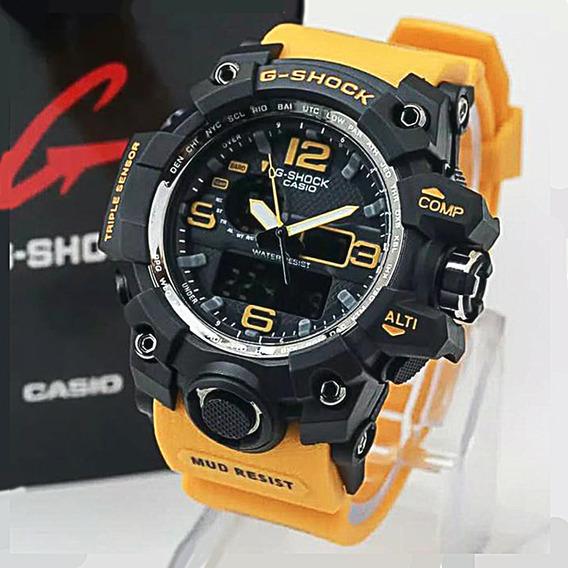 Relogio Casio Gshock Mudmaster Gwg1000,amarelo, 12x S/juros