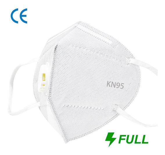 Cubrebocas N95 Válvula 5 Capas Filtro Respirador Con Ce 1pz