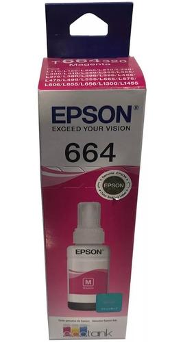 Botella De Tinta Epson 664 L110 L200 L395 L475 Colores Nueva