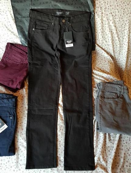 Pantalones Pull&bear Original Nuevos Zara