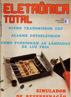 Revista Eletrônica Total 28 - Antiga - Frete Grátis
