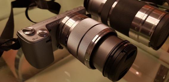 Camera Fotografica Sony Nex 5n + Bag + Bateria