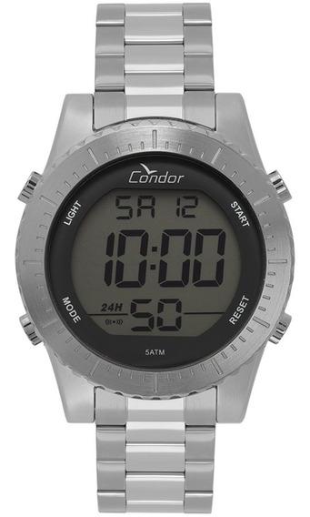 Relógio Condor Masculino Digital Cobj3463ab/2k Aço Prata