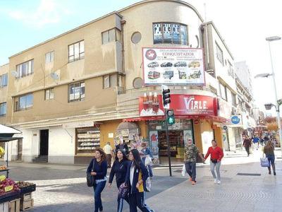 Excelente Oficina En Arriendo En Plena Calle Valparaíso, Arriba Panaderia Viale