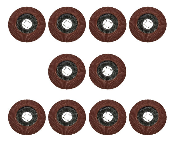 10x Flap Disc Grinding Wheel Zirconia Amoladora Angular