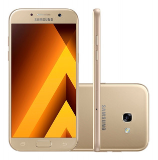 Samsung Galaxy A5 2017 Sm-a520f/ds 32gb Original - Vitrine