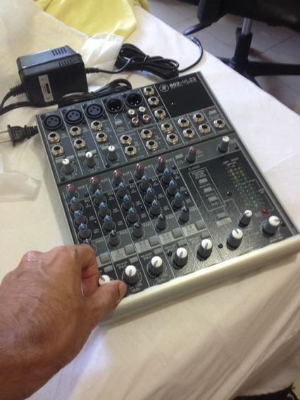 Mackie 802 Vlz3 Mesa De Som Mixador Mixer