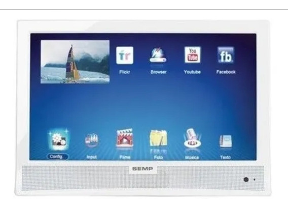 Tv 14 Semp Toshiba Le1477i Hd, Hdmi,usb, Youtube Smart