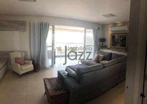 Apartamento Com 4 Dormitórios À Venda, 137 M² Por R$ 1.050.000,00 - Alphaville - Campinas/sp - Ap5290