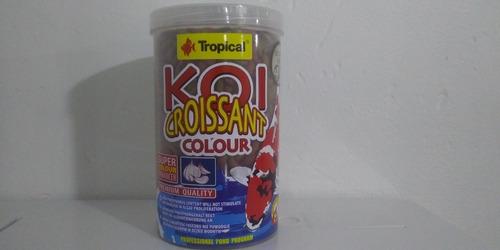 Imagen 1 de 2 de Tropical Alimento Koi Croissant Colour 210g Peces Estanque