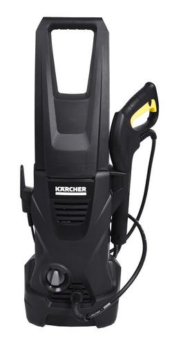 Lavadora de alta pressão Kärcher K2 Black preta de 1200W com 1600psi de pressão máxima 127V