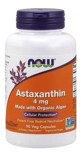 Astaxantina (astaxanthin) 4mg - 90 Veg Cap Now Foods