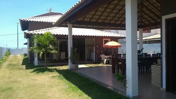 Casa Em Frente À Praia Linear Com 04 Quartos No Centro De Barra De São João. - Ca00066 - 31993609